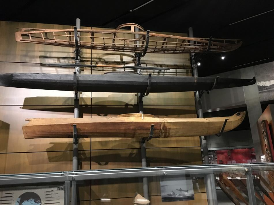 Alaskan Kayaks at Juneau Museum
