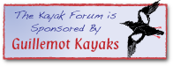 The KayakForum is sponsored by Guillemot Kayaks